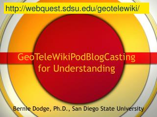 GeoTeleWikiPodBlogCasting for Understanding