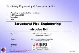 Fire Safety Engineering & Structures in Fire