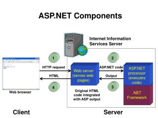 Web server (serves web  pages)