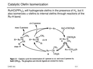 Catalytic Olefin Isomerization