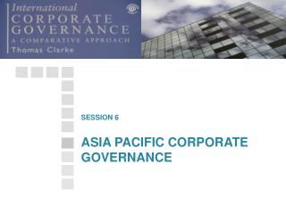 ASIA PACIFIC CORPORATE GOVERNANCE