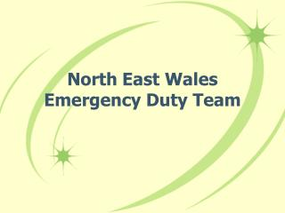 North East Wales Emergency Duty Team