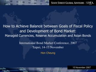 How to Achieve Balance between Goals of Fiscal Policy and Development of Bond Market: