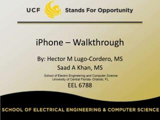 iPhone – Walkthrough