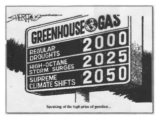 The  greenhouse gases (GHG)  are: