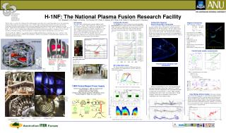 H-1NF: The National Plasma Fusion Research Facility