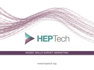 NODES' SKILLS SURVEY: MARKETING