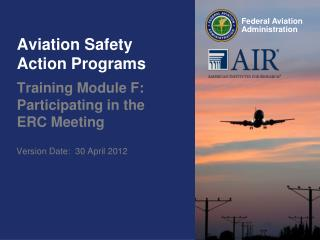 Aviation Safety Action Programs