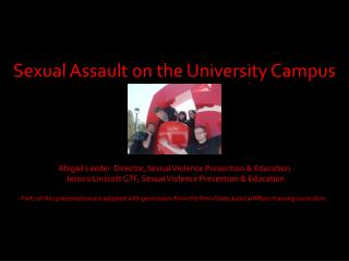 Sexual Assault on the University Campus