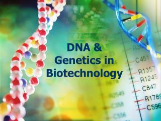 DNA & Genetics in Biotechnology