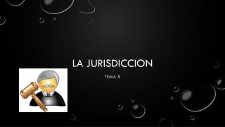 LA JURISDICCION