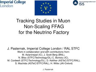 Tracking Studies in Muon  Non-Scaling  FFAG f or  t he  Neutrino  Factory