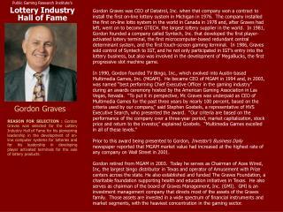 Gordon Graves