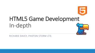 HTML5 Game Development In-depth
