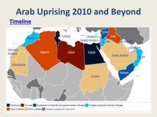 Arab Uprising 2010 and Beyond