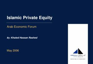 Islamic Private Equity