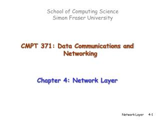 School of Computing Science  Simon Fraser University