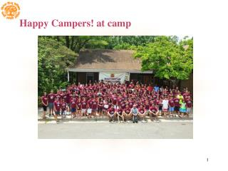 Happy Campers! at camp