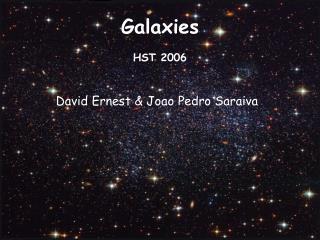 Galaxies HST 2006