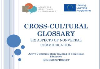 CROSS-CULTURAL GLOSSARY  six  aspects of nonverbal communication