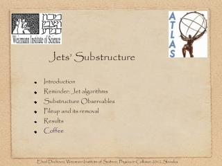 Jets' Substructure