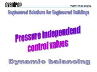 Engineered Solutions for Engineered Buildings