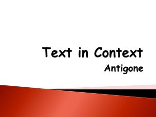 Text in Context