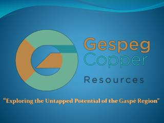 """ Exploring the Untapped Potential of the  Gaspé  Region"""
