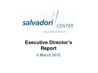 Executive Director's Report 6 March 2012
