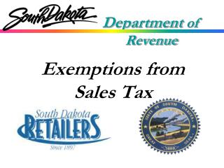 Exemptions from Sales Tax
