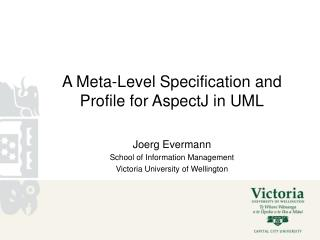 A Meta-Level Specification and Profile for AspectJ in UML