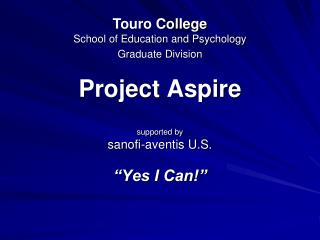 Project Aspire