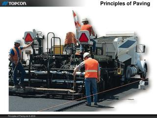 Principles of Paving