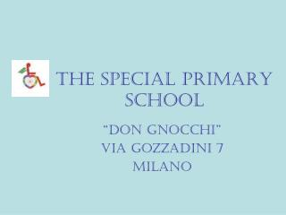THE SPECIAL PRIMARY SCHOOL