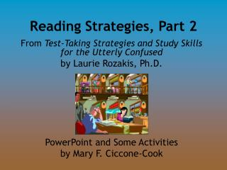 Reading Strategies, Part 2
