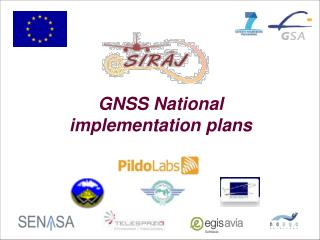 GNSS National implementation plans