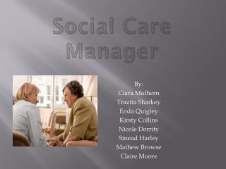 Social Care Manager