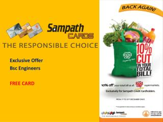 Exclusive Offer  Bsc Engineers FREE CARD