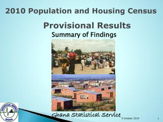 2010 Population and Housing Census  Provisional Results