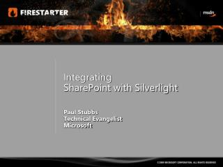 Integrating  SharePoint with Silverlight