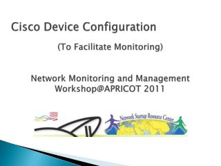 Cisco Device Configuration