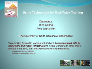 Using Technology for Fast-Track Training