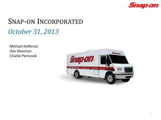 Snap-on Incorporated