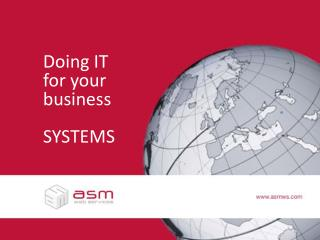Doing IT for your business SYSTEMS