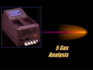 5 Gas Analysis