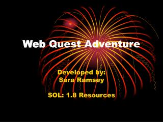 Web  Quest Adventure