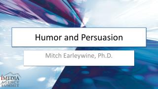 Humor and Persuasion