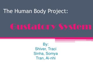 The Human Body Project: