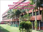 POST GRADUATE GOVT. COLLEGE FOR GIRLS  SECTOR-42 CHANDIGARH