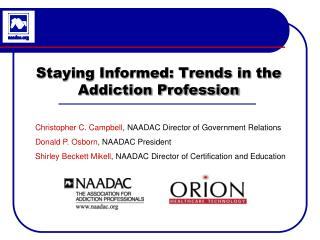 Staying Informed: Trends in the Addiction Profession